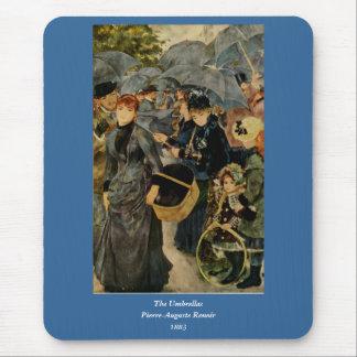 ピエール=オーギュスト・ルノワールの傘(1883年) マウスパッド