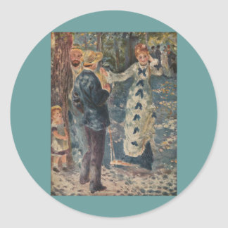 ピエール=オーギュスト・ルノワールの振動(1876年) ラウンドシール