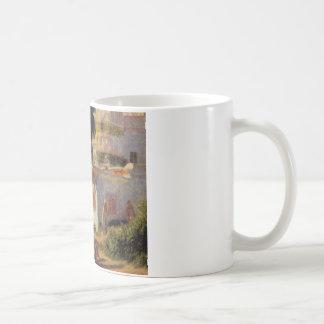 ピエール=オーギュスト・ルノワール著アルジェのモスク コーヒーマグカップ