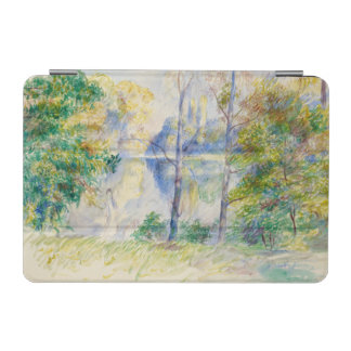 ピエール=オーギュスト・ルノワール著公園の眺め iPad MINIカバー
