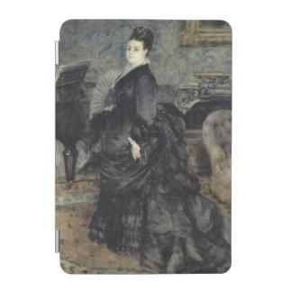 ピエール=オーギュスト・ルノワール著女性のポートレート iPad MINIカバー