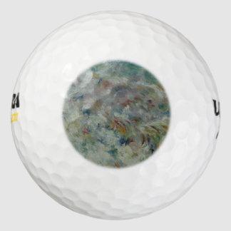 ピエール=オーギュスト・ルノワール著波 ゴルフボール