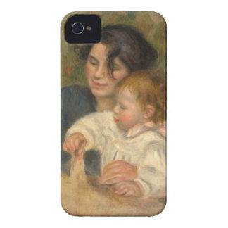 ピエール=オーギュスト・ルノワール著Gabrielleとジーン Case-Mate iPhone 4 ケース