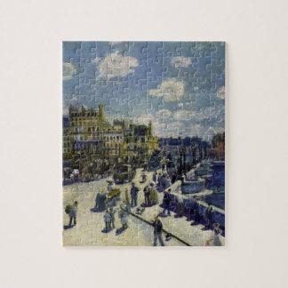 ピエール=オーギュスト・ルノワール著Pont Neuf ジグソーパズル