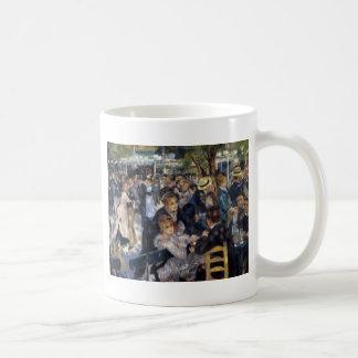 ピエールAugusteルノアール著Le Moulin deのla Galette コーヒーマグカップ