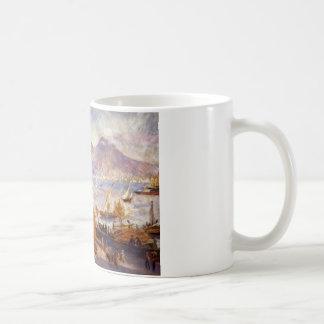 ピエールAuguste著午前中ヴェスヴィオ コーヒーマグカップ