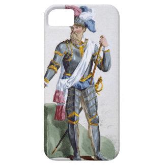 ピエールDuf著刻まれるフェルナンドCortez (1485-1547年) iPhone SE/5/5s ケース