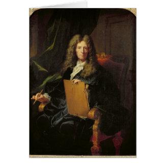ピエールMignard c.1690のポートレート カード
