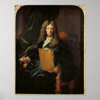 ピエールMignard c.1690のポートレート ポスター