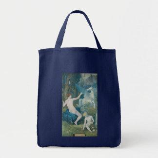 ピエールPuvis de Chavannes著ファンタジー トートバッグ