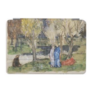 ピエールPuvis de Chavannes著神聖な果樹園 iPad Miniカバー