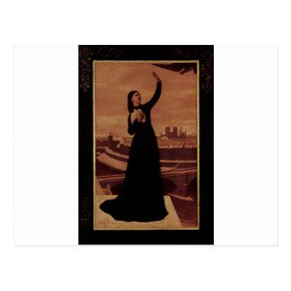 ピエールPuvis de Chavannes著鳥 ポストカード