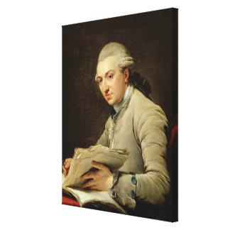 ピエールRousseau 1774年 キャンバスプリント
