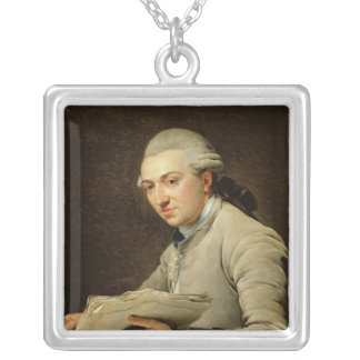 ピエールRousseau 1774年 シルバープレートネックレス