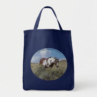 ピカソの砂の洗面器、コロラド州の種馬 トートバッグ