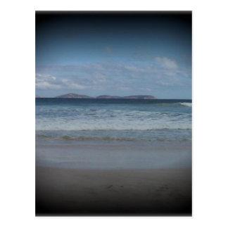 ピカピカのビーチ1 ポストカード