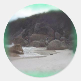 ピカピカのビーチ3 ラウンドシール
