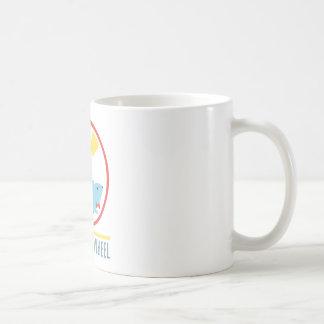 ピカピカの車輪のマグ コーヒーマグカップ