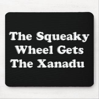 ピカピカの車輪はXanaduを得ます マウスパッド