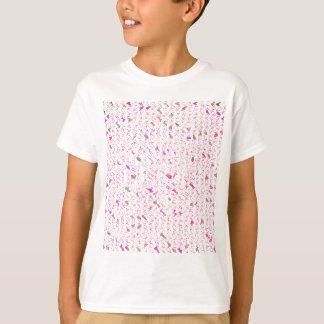 ピカピカのSquiggles Tシャツ