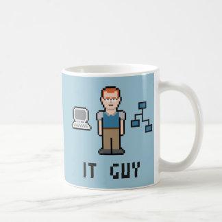 ピクセルそれ人のマグ コーヒーマグカップ