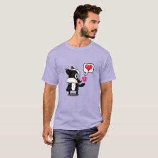 ピクセルアナグマは言います: 私のバレンタインがあって下さい! Tシャツ