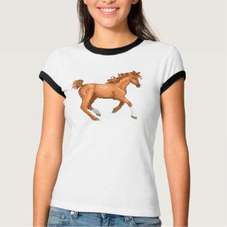 ピクセルアラビアの馬のワイシャツ Tシャツ