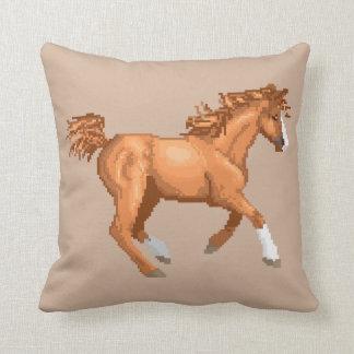 ピクセルアラビアの馬の枕 クッション