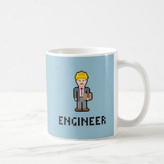 ピクセルエンジニアのマグ コーヒーマグカップ