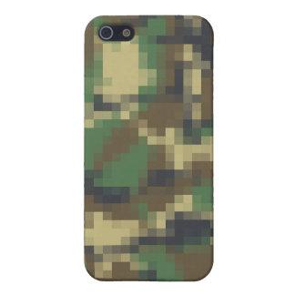 ピクセルカムフラージュ iPhone 5 COVER