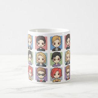 ピクセルキャラクター コーヒーマグカップ