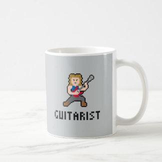 ピクセルギタリストのマグ コーヒーマグカップ