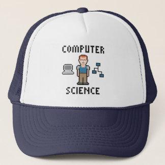 ピクセルコンピュータ・サイエンストラック運転手の帽子 キャップ