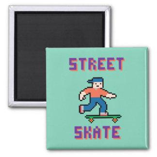 ピクセルスケート選手の磁石 マグネット