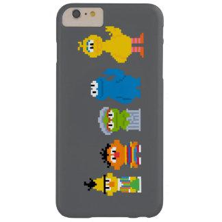 ピクセルセサミストリートのキャラクター BARELY THERE iPhone 6 PLUS ケース