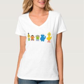 ピクセルセサミストリートのキャラクター Tシャツ