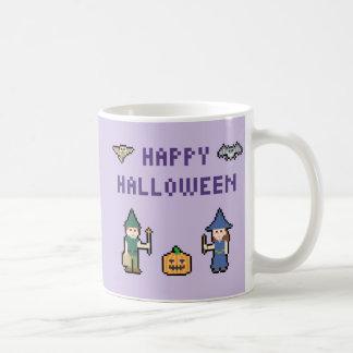 ピクセルハッピーハローウィン コーヒーマグカップ