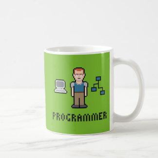 ピクセルプログラマーマグ コーヒーマグカップ