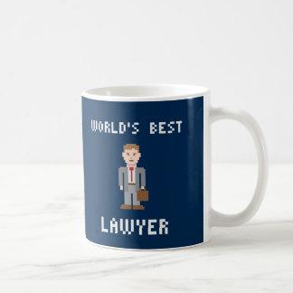 ピクセル世界で最も最高のな弁護士のマグ コーヒーマグカップ