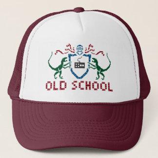 ピクセル古い学校の恐竜の帽子 キャップ