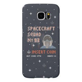 ピクセル宇宙の分隊のSamsungの銀河系S6の箱 Samsung Galaxy S6 ケース