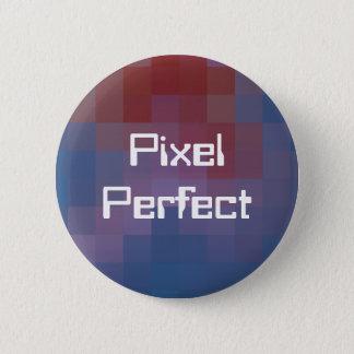 ピクセル完全なPixelated 5.7cm 丸型バッジ