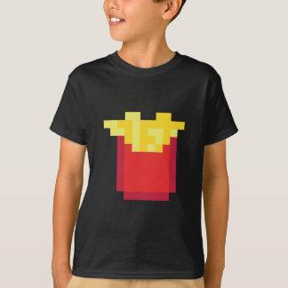 ピクセル揚げ物 Tシャツ