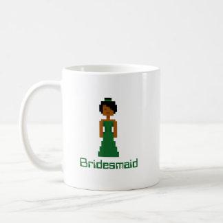 ピクセル新婦付添人2 コーヒーマグカップ