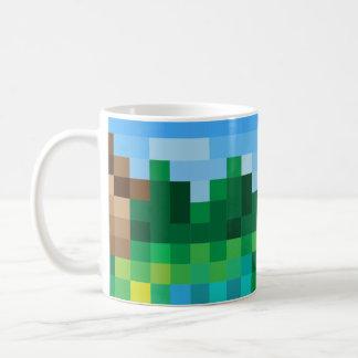 ピクセル景色 コーヒーマグカップ