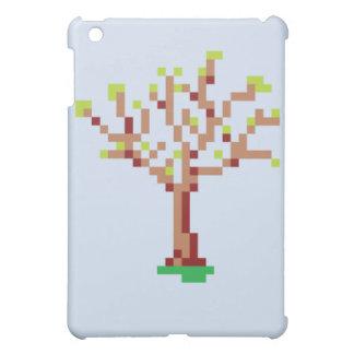 ピクセル木 iPad MINI カバー