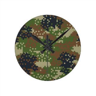 ピクセル森林カムフラージュ 時計