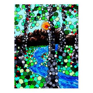 ピクセル森林 ポストカード