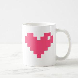 ピクセル熱マグ コーヒーマグカップ