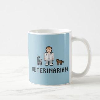 ピクセル獣医のマグ コーヒーマグカップ